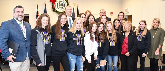 Islip Girls Varsity Soccer team 